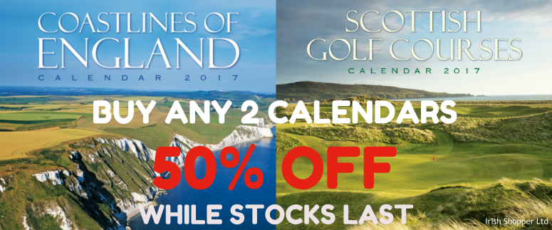 Buy 2 Calendars get 50 Percent Off