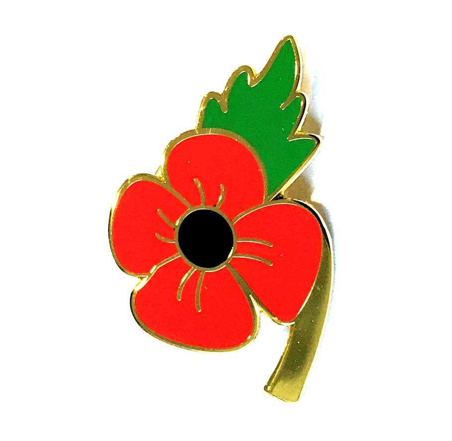 Poppy Pin Badges and Brooches
